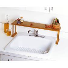 Bathroom Sink Organizer by Lipper International Wood Over The Sink Shelf
