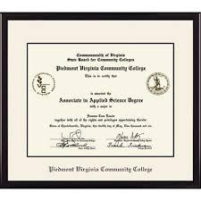uva diploma frame piedmont virginia community college vp 7x9 diploma frame