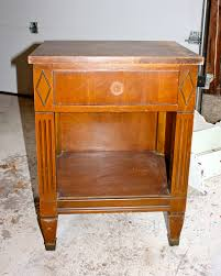 Vintage Nightstands My Passion For Decor Craigslist Nightstand Makeover To Sell Or