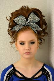 best 25 cheer hair ideas on pinterest cheerleading hair
