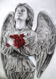 angel statue by dewilish on deviantart