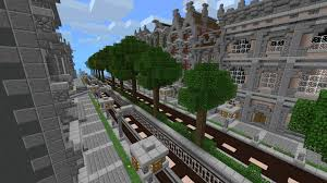 Minecraft Pe Maps Ios New Silverhills City Creation Minecraft Pe Maps