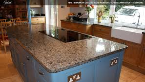 blue kitchen cabinets with granite countertops charming quarks blue granite countertop