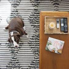 Nate Berkus Area Rug See Four Stylish Takes On The New Black And White Kilim Rug From