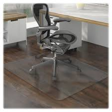 lorell 69169 floor 60 rectangular chairmat floor wood