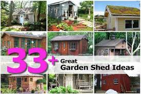 33 great garden shed ideas