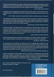 essential microeconomics john g riley 9780521827478 amazon com