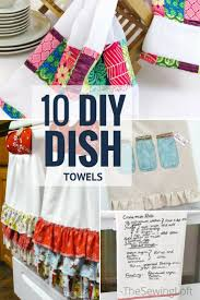 kitchen towel craft ideas 10 awesome diy dish towel patterns towels dishes and kitchens