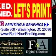rush hour printing u0026 graphics 12 photos u0026 37 reviews printing
