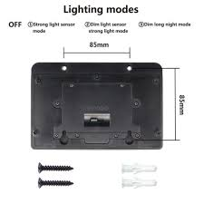 wireless sensor lights outdoor 45 solar led light outdoor garden waterproof wireless security