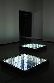 ivan navarro heaven or las vegas exhibition dj lights and