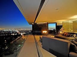 bedroom retractable glass wall interior design ideas