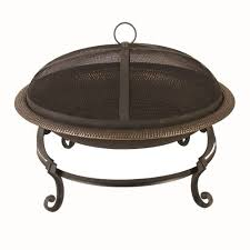 black fire pits outdoor heating the home depot