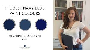 best wall color for navy cabinets the best navy blue paint colours painted cabinets island front doors and more