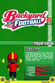 Wii Backyard Football by Backyard Football User Screenshot 20 For Ds Gamefaqs