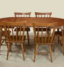 maple dining chairs vintage maple dining room table and chairs ebth