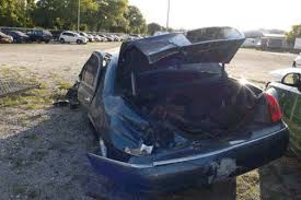 lincoln town car severe wreck maine