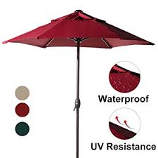 12 Foot Patio Umbrella Abba Patio 7 1 2 Ft Outdoor Market Patio