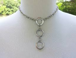 stainless steel collar necklace images 24 7 wear discreet symbolic o ring day collar necklace bdsm jpg