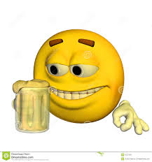 champagne emoticon drunk emoticon stock vector image 48966854