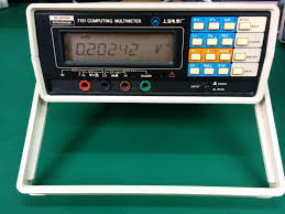 solartron schlumberger 7151 bench multimeter teardown pics page 1