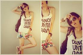 rodeo crowns yuko h m top rodeo crowns shorts topshop sandals