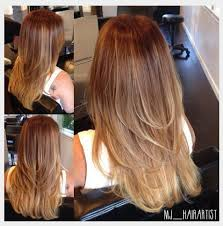 hair styles cut hair in layers and make curls or flicks for fine thin hair layering for movement and a gentle ombre to