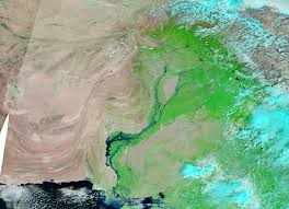 Map Of Indus River Flooding In Pakistan Natural Hazards
