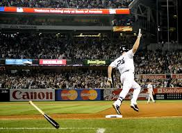 yankee stadium home run lights long gone yankee stadium home run pace tapered off after record