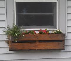 Hanging Planter Boxes by Pallet Planter Pallets Planters And Window