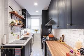 cool why a galley kitchen rules in small design of photos find
