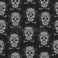 skeleton halloween background day of the dead celebration a festival in mexico sugar skull