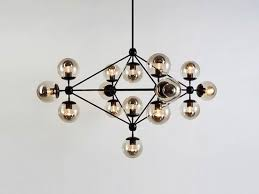 Antique Chandelier Globes 10 Easy Pieces Modern Glass Globe Chandeliers Remodelista