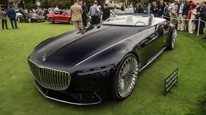 maybach sports car vision mercedes maybach 6 cabriolet at pebble beach photo gallery