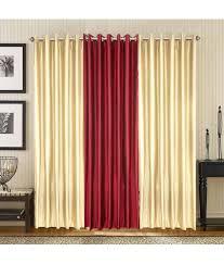 44 off on shop24 decor solid design window door curtains set of