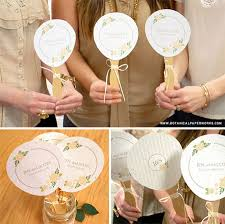 fan favors fan favors wedding fan programs