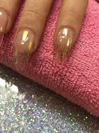nail art how to sparkling glitter nails nailpro