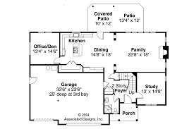 Garage Office Plans European House Plans Sausalito 30 521 Associated Designs