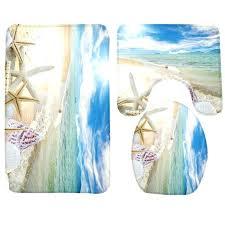Seashell Bathroom Rugs Seashell Bath Rugs Seashell Bathroom Rug Set Seashell Bath Rug