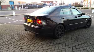 lexus is300 bhp lexus is200 dual catback exhaust rev driveby youtube