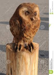 owl stock photo image of owlet wood cutting carved 35289334