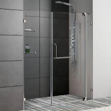shower door separator u0026 guide bottom retainer sliding shower door