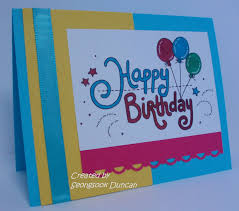 create a birthday card a stack happy birthday cards create with seongsook