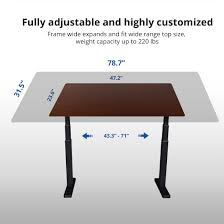 Height Adjustable Desks by Electric Height Adjustable Desks Premium Option Flexispot