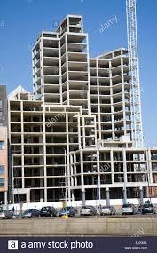 shell concrete waterfront apartments regatta quay unfinished stock