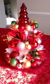 table decoration fabulous image of red baubles red feather table