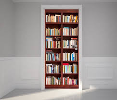 Wall Bookcases With Doors Bookshelf Designs Setting A Worthwhile Place For Your Books