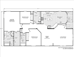 Mobile Home Floor Plans Florida by Festival Ii 30603m Fleetwood Homes