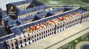 chambres d h es versailles reconstitution 3d l histoire du château de versailles après la