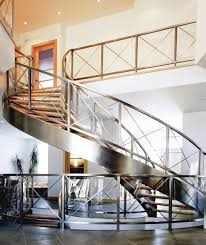 Design For Staircase Railing Stainless Steel Railing Designs Outdoor Stair Railing Height